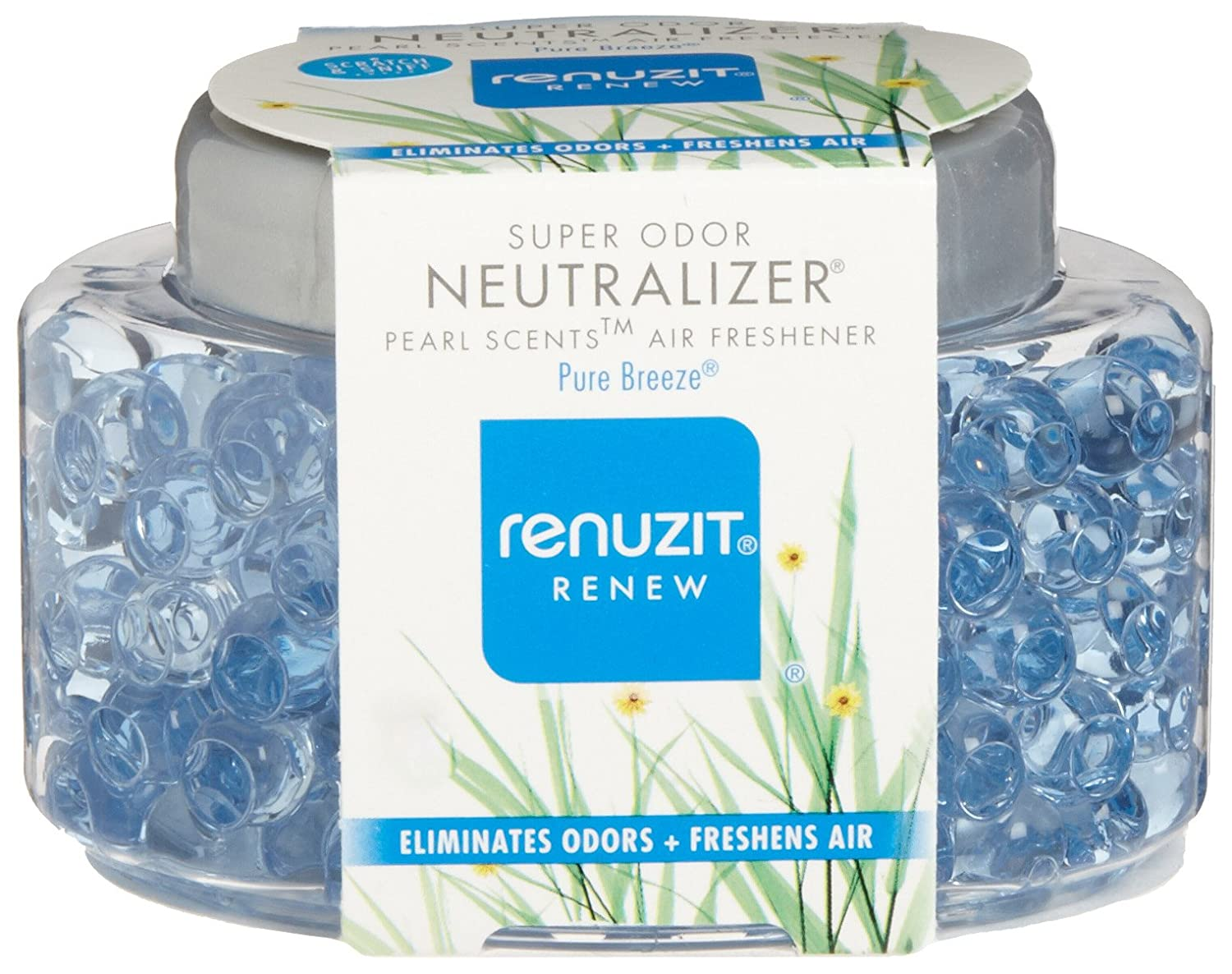 Amazon: Dial 1722983 Renuzit Super Odor Neutralizer Pearl Scents After  The Rain Air Freshener, 564oz Bottle (pack Of 8): Industrial & Scientific
