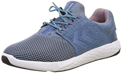 Hummel Actus Breather, Chaussures de Fitness Mixte Adulte, Blanc (White), 38 EU