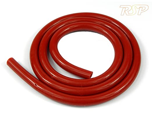1 Metre Silicone Vacuum Vac Hose Pipe Tube 5mm ID 10mm OD RED