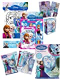 Disney Frozen Bumper End of Season Sale - Set Includes - Disney Frozen Large Gift Bag + Disney Frozen Gift Wrap, Birthday Card And Tag Gift Pack - Disney Frozen Colouring Set - Disney Frozen Busy Pack - Disney Frozen Sticker Pad - Disney Frozen Play Pack Colouring Pad - Massive Value RRP £23.99 - Yours for Only £12.99 - Virtually Half Price! - While Stocks Last!