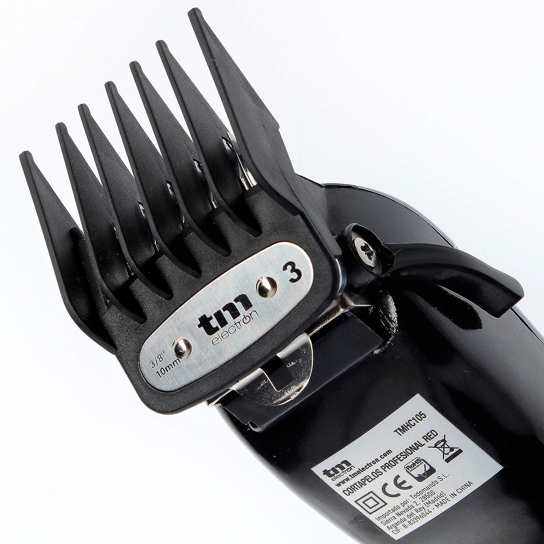 TM Electron TMHC105 - Maquinilla cortapelos profesional con cable ...
