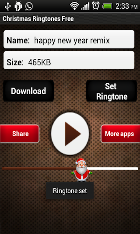 amazoncom christmas ringtone free appstore for android - Free Christmas Ringtone