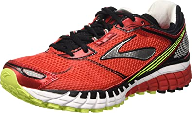 Brooks Aduro 3 M, Zapatillas de Running para Hombre, High Risk Red/Black/Nightlife, 45 1/2 EU: Amazon.es: Zapatos y complementos