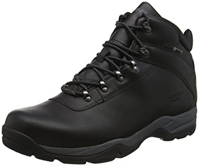 f9d57a22dbd4f2 Hi-Tec Men's Eurotrek III Waterproof High Rise Hiking Boots, Black (Black)
