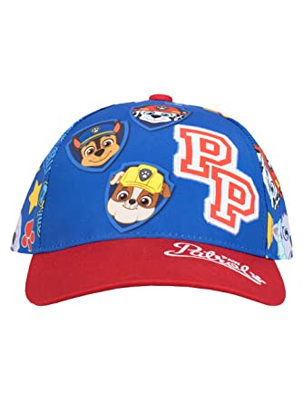 4c6f94ec4ab Paw Patrol Boys Chase Marshall   Group Baseball Cap One Size  Amazon ...