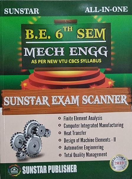 B E  6th SEM VTU CBCS 2019 EXAM SCANNER with Pen (Mechanical