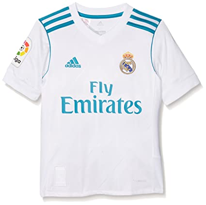 50e175fd67f Amazon.com   adidas Real Madrid Kids Home Shirt 2017 18-13-14 Years ...