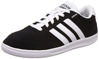 classic fit size 7 online for sale Adidas NEO Men's Cross Court Leather Sneakers
