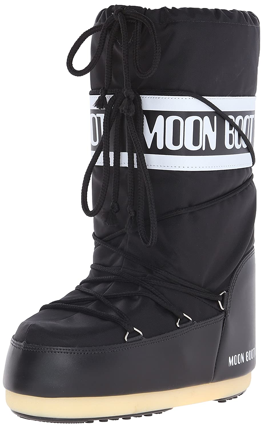 Tecnica Unisex Moon Nylon Fashion Boot B000CR2450 39-41 EU (7-8.5 M US Women's)|Black