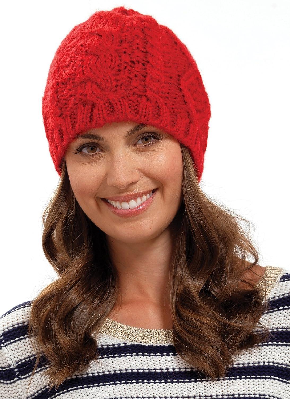 Femmes C/âble Bonnet Tricot