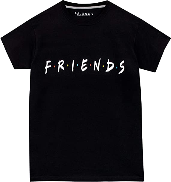 Friends Camiseta de Manga Corta para Niños: Amazon.es: Ropa y accesorios