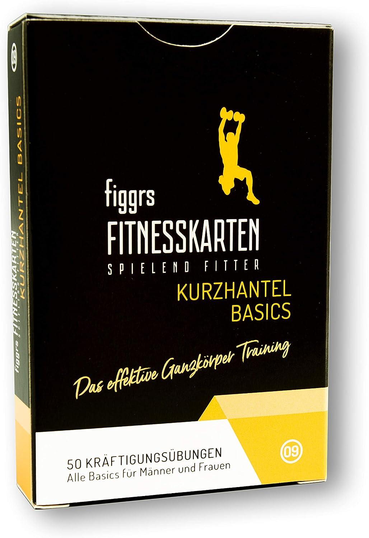 figgrs Cartes dentra/înement Basics 50 Exercices efficaces pour Tout Le Corps