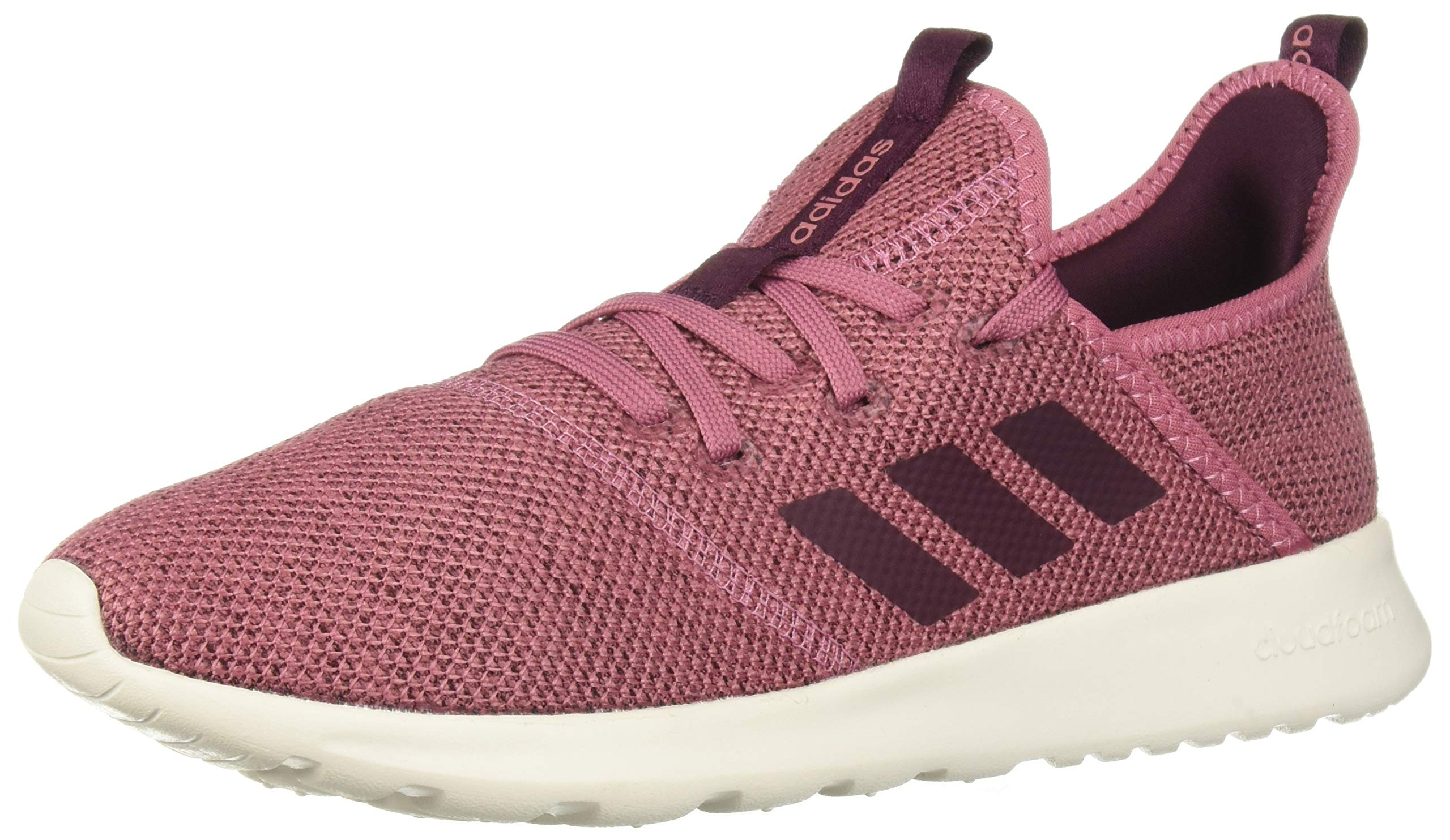 adidas Performance Women's Cloudfoam Pure Running Shoe, Maroon/Maroon/White, 5 M US