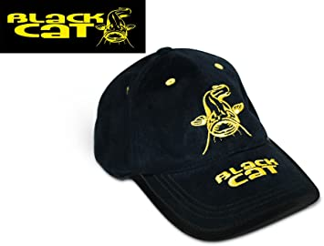 ZEBCO RHINO BLACK CAT BASEBALL CAP HAT FISHING MATCH COARSE CARP SPECIMEN 9649d25649