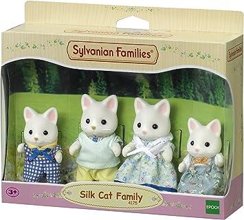 Sylvanian Families - 4175 - Familia Gatos de Seda: Sylvanian Families: Amazon.es: Juguetes y juegos