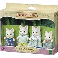 Família Gato de Seda Sylvanian Families