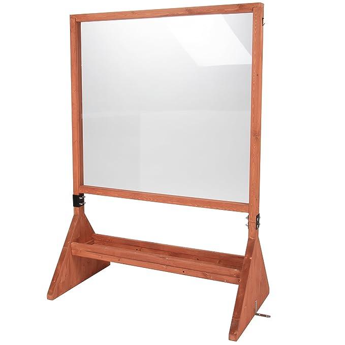 Svan Doble Cara Interior/Exterior Base de Arte Plexiglass ...