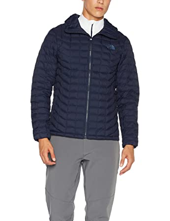 4241cd08f The North Face Mens Thermoball Hoodie Urban Navy Matte 2XL