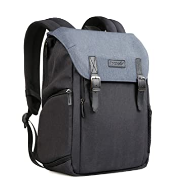 666128141ac Inateck Anti-Shock DSLR SLR Mirrorless Camera Water-Resistant Backpack with  Laptop Compartment