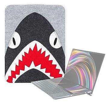 DURAGADGET Funda Gris de Fieltro con diseño de tiburón para ...