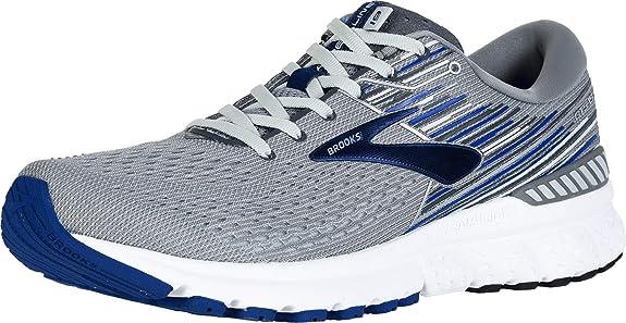Brooks Adrenaline GTS 19 Grey//Blue NEW! 4E Men/'s Sizes 10-12.5 Extra Wide