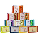 Khadi Herbal Ayurvedic Soaps Pack of 10 Assorted Exotic Handcrafted Natural Beauty Soaps, 125g each