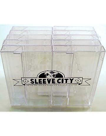 Music 50 X Used Black Plastic Cassette Tape Cases