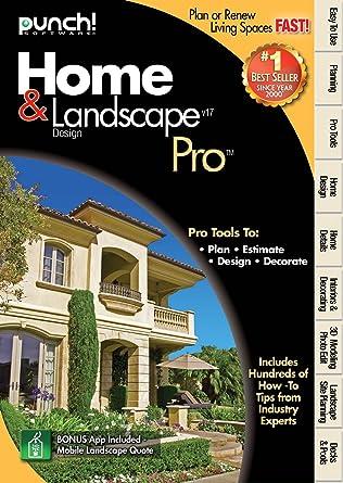 Amazon.com: Punch Home Landscape Pro Version 17: Software