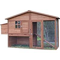 Large Brunswick A Frame Chicken Coop (Cedar)