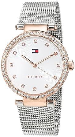 Tommy Hilfiger Reloj Análogo clásico para Mujer de Cuarzo con Correa en Acero Inoxidable 1781863: Amazon.es: Relojes