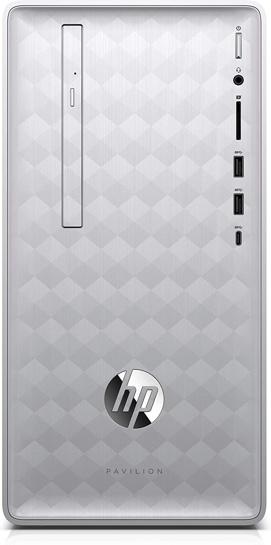 HP Pavilion Desktop 590-p0157c, i5-9400, 16GB DDR4, 1TB HDD, AMD Radeon RX 550, Silver