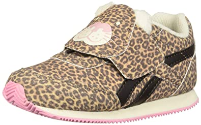 9aeb742971834 Reebok Baby Royal Classic Jogger 2.0 KC Sneaker Dark Brown Cream Light Pink  3