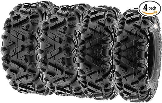 6 Ply Tubeless SunF A033 Power.I 26x8-12 ATV UTV Tire All-Terrain Off-Road