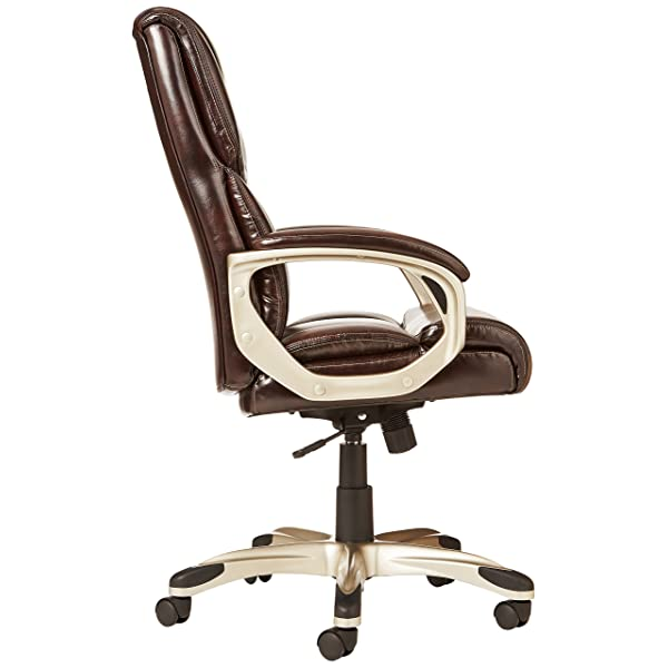 AmazonBasics High-Back Executive Chair - Brown