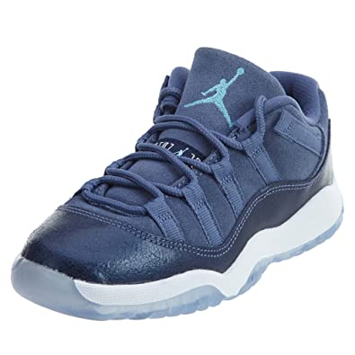 5911927fddca80 Jordan 11 Retro Low GP Little Kid s Shoes Blue Moon Polarized Blue  580522-408