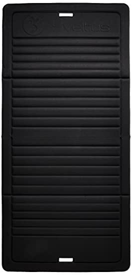 sveltus tapis pliable noir - Tapis Noir
