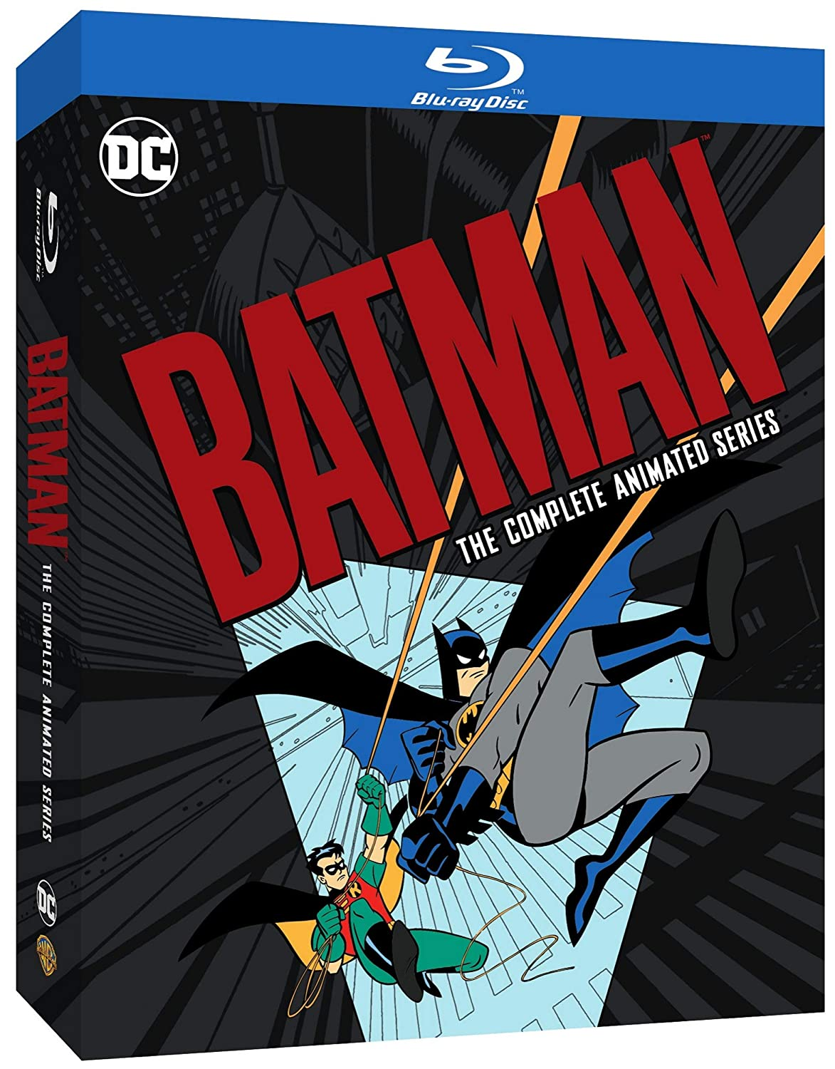 Batman The Complete Animated Series Blu Ray Various Various Movies Tv