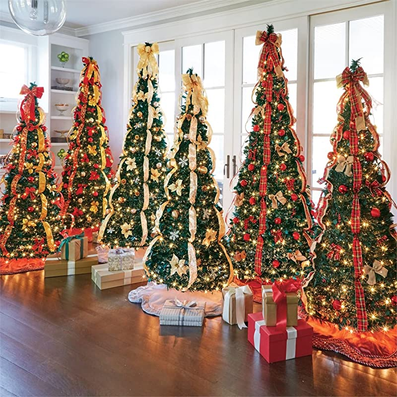 fake pop up already decorated christmas tree ideas - Fully Decorated Christmas Trees For Sale