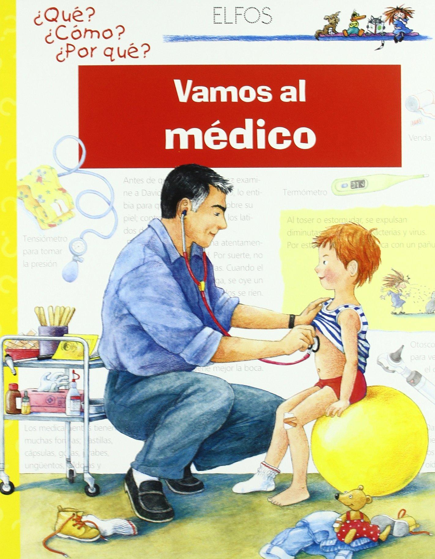 Vamos al médico (Spanish) Hardcover – 2014