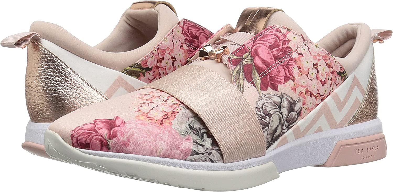 Ted Baker Women's Cepa Sneaker B07B98QXWT 8.5 B(M) US|Palace Gardens Textile