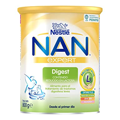 NAN Digest - Alimento en polvo para el tratamiento de trastornos digestivos leves - Fórmula para