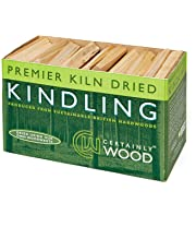 Certainly Wood Kiln Dried Poplar Kindling (approx. 100 sticks)