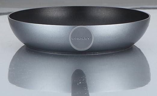 Oroley 299060100 Sarten de induccion aluminio prensado Ecosilver 18 cm: Amazon.es: Hogar