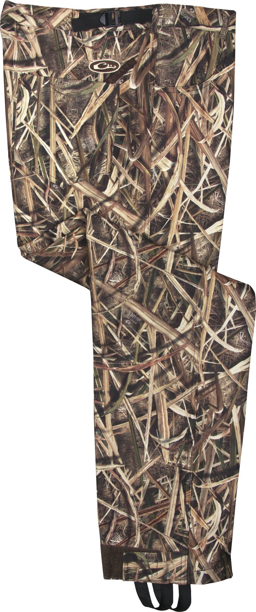 Drake MST Windproof Bonded Fleece Pant, Color: Blades, Size: Large (DW2440-013-3), Camo