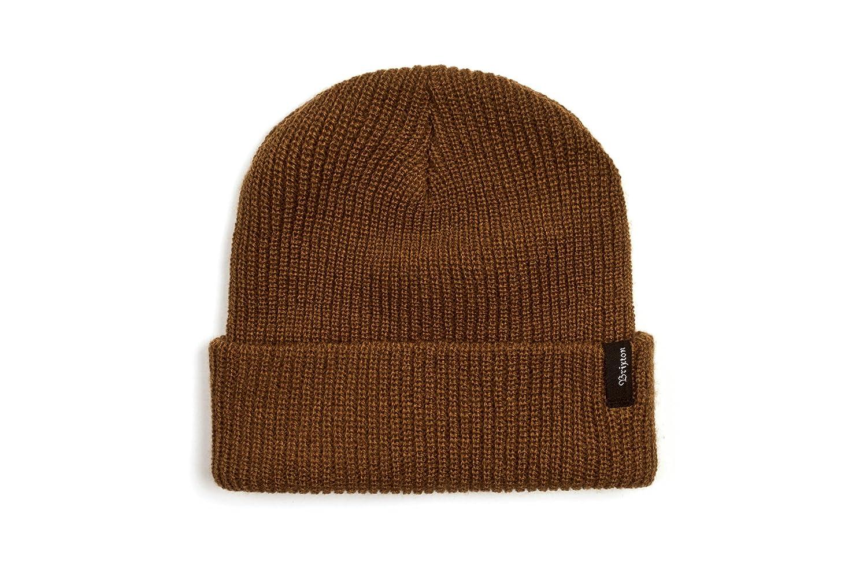【BRIXTON】ブリクストン 2017秋冬 HEIST BEANIE メンズビーニー ニット帽 折り返し One Size コッパー B00CKWR8X8