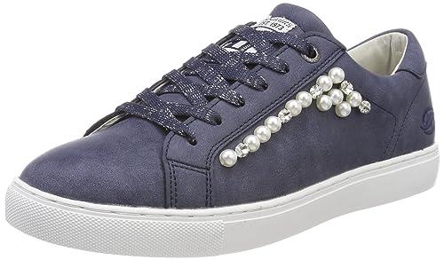 Dockers by Gerli 38pd212-630660, Zapatillas para Mujer, Azul (Navy 660), 41 EU