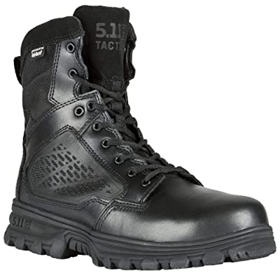 "5.11 Tactical Evo 6"" Waterproof Boot With Sidezip: Shoes"
