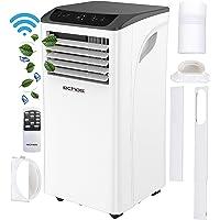 3-in-1 mobiele airconditioning, 9000 BTU, bestuurbaar via smartphone, 24-uurs timer, raamkit, afstandsbediening…