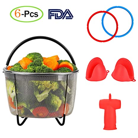 85f0b0c465 Amazon.com  Instant Pot Accessories Set 5