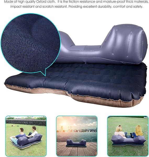 Amazon.com: Colchón hinchable para asiento trasero de coche ...